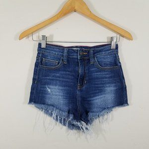 Cello Distressed  Jean Shorts Size S